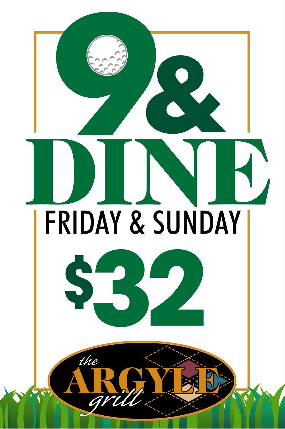 9 & Dine